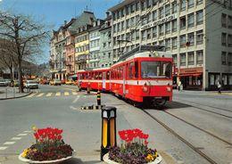 St-Gall Marktplatz - TB - T.B.  Trogenerbahn  Appenzeller Bahnen Ligne De Chemin De Fer Train - SG St. Gallen