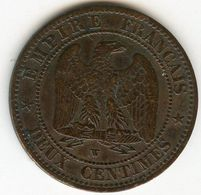 France 2 Centimes 1854 W GAD 103 KM 776.7 - Francia