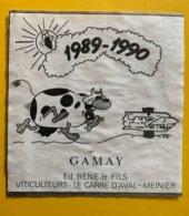 15048 - 1989-1990 Grange-Verney Gamay Ed.Bene & Fils Meinier - Koeien