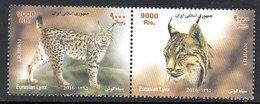 IRAN 3042/43 Lynx - Raubkatzen