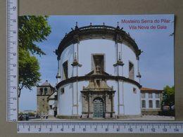 PORTUGAL - MOSTEIRO DA SERRA DO PILAR -  VILA NOVA DE GAIA -   2 SCANS     - (Nº36154) - Porto