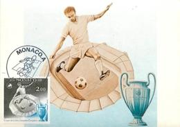 Monaco.  1  Document  Thème Football (soccer) - Covers & Documents