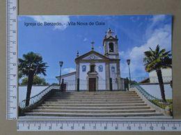 PORTUGAL - IGREJA DE SERZEDO -  VILA NOVA DE GAIA -   2 SCANS     - (Nº36156) - Porto