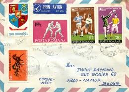Roumanie  7 Documents  Thème Football (soccer) - Covers & Documents