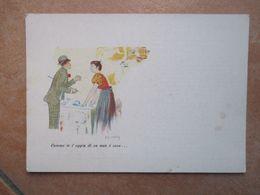 NAPOLI Cartoline Musicali BIDERI SCAPRICCIATIELLO P. Ventp F.Albano Formato Grande A Colori - Music And Musicians