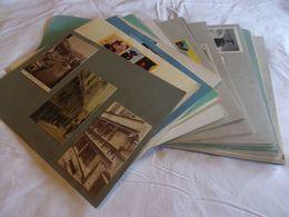 63. CPA-CPSM-CPM. Puy-de-Dôme. Lot De 199 Cartes (collées Sur Support Papier) (autres Régions Sur Demande) - 100 - 499 Cartes