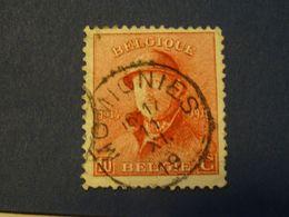 BELGIQUE  MOMIGNIES  1919 - 1919-1920 Behelmter König