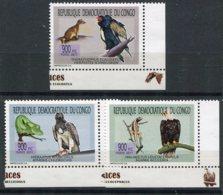 Congo (republique Démocratique) Oiseaux     1927/1929 ** - Eagles & Birds Of Prey