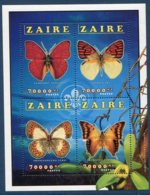 Zaïre     Papillons  1455/1458 ** - Butterflies
