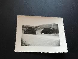 PHOTO Guerre D'Algerie 1957 Depanneuse & Half Track M3 - Guerre, Militaire