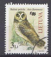 Lituanie 2004  Mi.Nr: 858 Vögel Eulen   Oblitèré / Used / Gebruikt - Litouwen