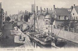 BRUGES , Belgium , 1900-10s ;  Le Quai Vert. - Brugge