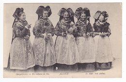 67 Geispolsheim Entre Molsheim Et Strasbourg Belles Alsaciennes En Costume De Fête VOIR ZOOM & VOIR DOS - Strasbourg