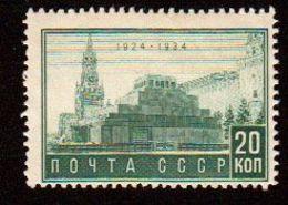 Russie URSS 1934 Yvert 317 ** Neuf Sans Charniere. Mausolee De Lenine. - 1923-1991 URSS