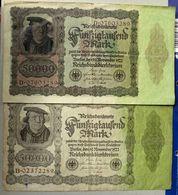 Reichsbanknote 50000 Mark 19-11-1922 - 50000 Mark