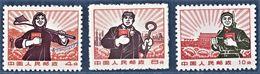 CHINE 1969      Le Livre Rouge   Série Courante   Paysanne, Ouvrier Et Soldat - Neufs
