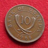 Uganda 10 Cents 1966 KM# 2 Ouganda Oeganda - Uganda