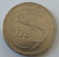Monnaie - Malte - 10 Cents 1998 - - Malta