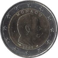2E220 - MONACO - 2 Euros - Prince Albert II 2009 - Monaco