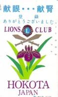 LIONS CLUB INTERNATIONAL Lions International (45) On Phonecard - Télécartes