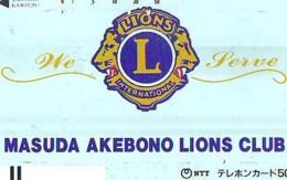 LIONS CLUB INTERNATIONAL Lions International (46) On Phonecard - Télécartes