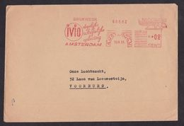 Netherlands: Cover, 1955, Meter Cancel, IVIO Written Distance Education, Training Company (minor Creases) - Period 1949-1980 (Juliana)