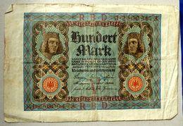 Reichsbanknote 100 Mark 01-11-1923 - [ 3] 1918-1933 : Repubblica  Di Weimar