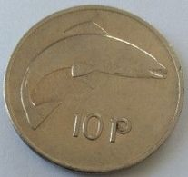 Monnaies - Irlande - 10 Pence 1985 - - Irlanda