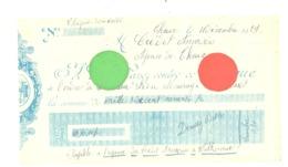 Lot De 2 Chèques De 1928 Et 1929 - THEUX - Banque De Limbourg Et Crédit Anversois - Chèques & Chèques De Voyage
