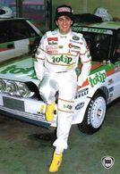 MOTOR RACING - AUTOMOBILISMO - RALLY - RALLIE- ALEX FIORIO - DELTA HF 4WD - N 018 - Rally