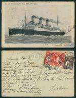 BARCOS SHIP BATEAU PAQUEBOT STEAMER [BARCOS # 02946 ] - PAQUEBOT LUTETIA CERES PORTUGAL - Steamers