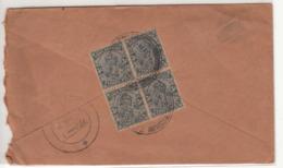 KGV Used Cover 1935, British India  Used Abroad /  Burma - India (...-1947)