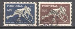 Portugal 1952 Mi 780-781 Canceled - Gebruikt