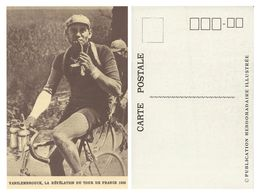 CARTE CYCLISME VANDENBROUCK TOUR 1926 - Cycling