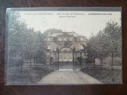 LAMBERSART-LEZ- LILLE .244, Avenue De Dunkerque  Institution Sainte Odile Entrée Principale - Lambersart