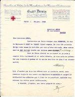 1933 - Flanelles Et Filets De La Manufacture Des Marins-Châteauroux - Etabl Denis - 3& 5 Rue De Metz Paris (10è) - France