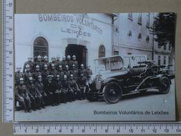 PORTUGAL - BOMBEIROS VOLUNTARIOS DE LEIXÕES -  PORTO -   2 SCANS     - (Nº36227) - Porto