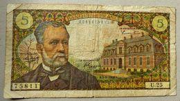 Billet 5 Francs Pasteur 01-09-1966 - 1962-1997 ''Francs''