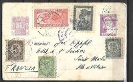 Espagne  Lettre En Urgence   Du 07 02 1959 De Port Mahon  Pour  Saint Malo - 1951-60 Storia Postale