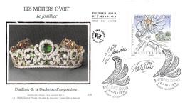 FRANCE. FDC. N°206810. 10/11/2016. Cachet Paris. Le Métiers D'art. Joaillier. Diadème De La Duchesse D'angouleme. Signé - 2010-....