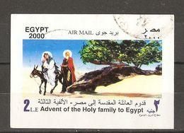 Egypte 2000 - Millenium - Sainte Famille - Holy Family - Christmas - Noël - Timbre/Vignette° - Non Dentelé - Oblitérés