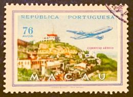 MAC6722U - Air Mail Views Of Macau Set Of 4 Used Stamps - Macau 1960 - Macao
