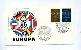 Lettre Fdc 1959 Europa - FDC
