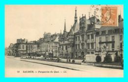 A703 / 081 49 - SAUMUR Perspective Du Quai - Saumur