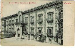 CATANIA FACCIATA EX CONVENTO BENEDETTINI - Catania