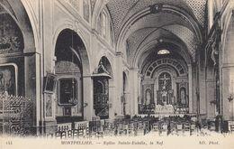 MONTPELLIER, Herault, France, 1900-1910's; Eglise Sainte-Eulalie , La Nef - Montpellier