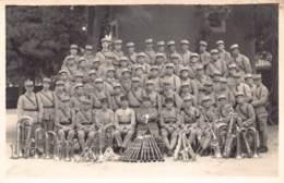 89 - YONNE - AUXERRE - 10699 - CARTE PHOTO - Orchestre Militaire - Musique - Militaria - Auxerre