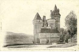 CHATEAU De La ROQUE (en Périgord) - Lieu De Naissance De Christophe De Beaumont, Archevêque De Paris R/V - Unclassified