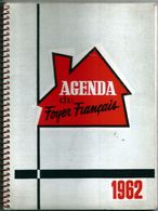 Agenda Du Foyer Français  1962  Comptoirs Escaut  Nord  Alimentation Générale  Egé - Kalender
