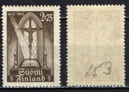 FINLANDIA - 1942 - 300th Anniv. Of The Printing Of The 1st Bible In Finnish - MH - Neufs